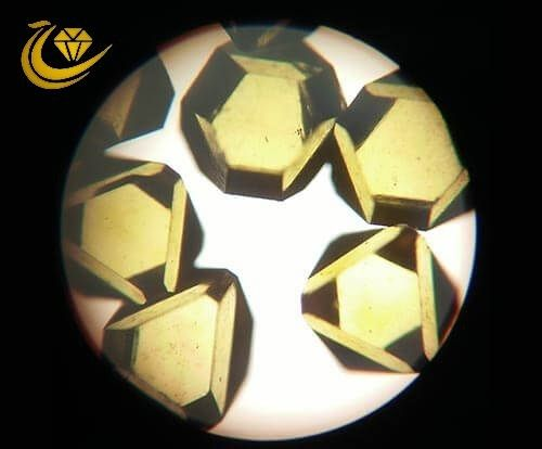 High Purity Large Synthetic Diamond Single Crystal 91 For Precision Machining Tools